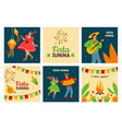festa junina traditional latin american fertility vector image
