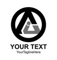 letter a logo royal hotel premium boutique vector image vector image