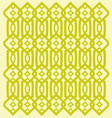 Modern trellis pattern vector image vector image
