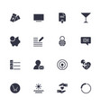 Simple different icons set universal icons to use