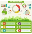 Utility infographics vector image vector image