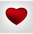 02 hearts background purple vector image