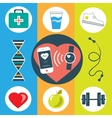 Activity healthy tracker vector image