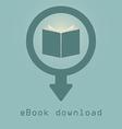 Downloading e books icon