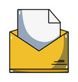 folder file document information archive vector image vector image