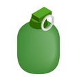 Hand grenade 3d isometric icon vector image vector image