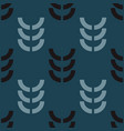 harvest crop seamless pattern vector image vector image