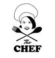 logo chef-04 vector image vector image
