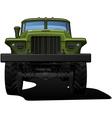 off highway truck vector image vector image