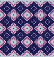 seamless pattern with geometric vector image vector image