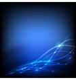 Night abstract background with lights vector image