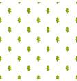 alder tree pattern seamless vector image vector image