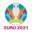 euro 2020 european football championship vector image