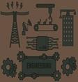 Logo Template Engineering vector image vector image