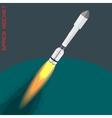 Proton space rocket vector image vector image