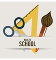 school design vector image