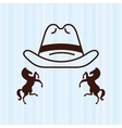 wild west icon design vector image