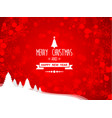 abstract merry christmas and happy new year vector image vector image