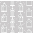 birdcages and feathers vector image vector image