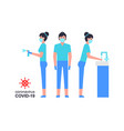 coronavirus covid19-19 prevention vector image vector image