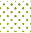 oak tree pattern seamless vector image vector image