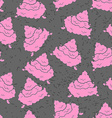 Pink Turd seamless pattern Pile of shit ornament vector image vector image