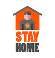 quarantine icon and sign vector image