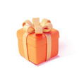realistic detailed 3d gift box vector image
