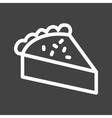 Slice of Pie vector image vector image