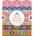Navajo seamless tribal colorful pattern vector image