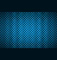 blue abstract textured triangular background vector image vector image