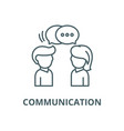 communication line icon communication vector image vector image