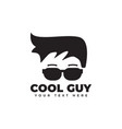 cool guy graphic design template isolated vector image vector image