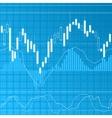 Finance background vector image