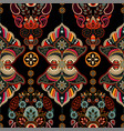 ornamental pattern arabian style colorful vector image