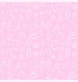 pattern background set vector image