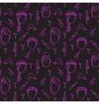 Seamless pattern barbershop vector image