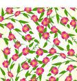 Spring flower background vector image vector image