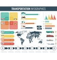 Transportation Infographics set Individual and vector image