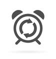 alarm update vector image vector image