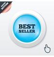 Best seller sign icon Best seller award symbol vector image vector image