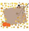 card fall vector image vector image