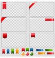glass framework vector image vector image