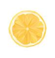 polygonal orange abstract geometric vector image vector image