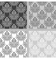 Seamless ethnic pattern collection vector image vector image