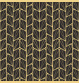 abstract art deco seamless pattern 01 vector image vector image