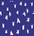 curvy women doodle seamless pattern art vector image