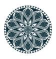 Mandala oriental symbol vector image vector image