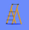 platform ladder vector image vector image