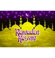 religious background design for ramadan and eid vector image vector image